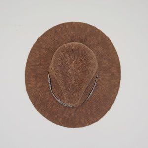 Floppy Woven Wide Brim Hat